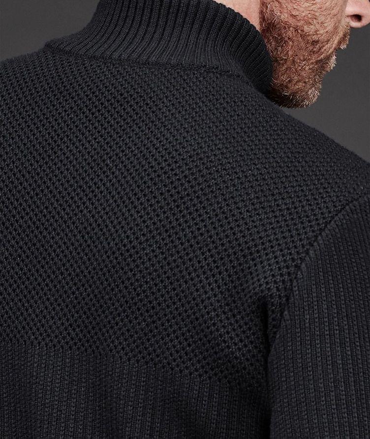 HyBridge Zip-Up Knit Sweater image 5