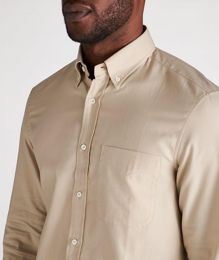 Contemporary Fit Cotton Shirt image 3