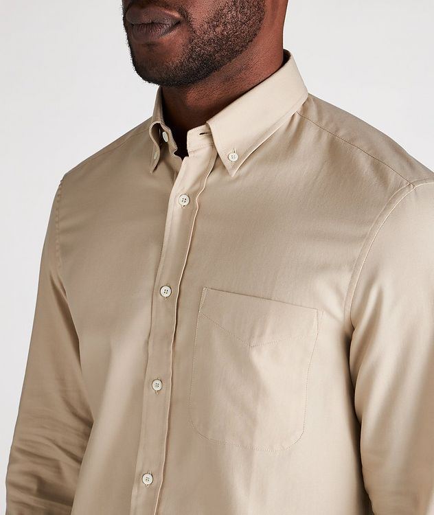 Contemporary Fit Cotton Shirt picture 4