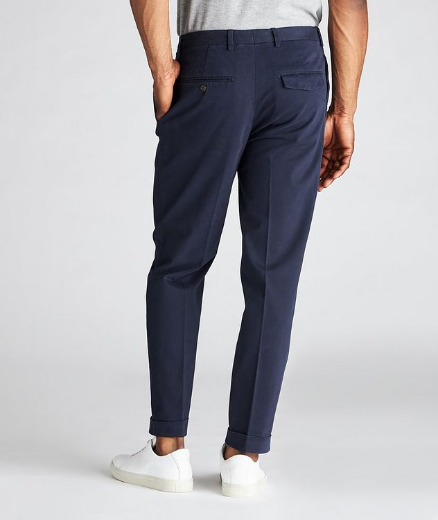 Trevor Stretchy Cotton Pleated Dress Pants  picture 3