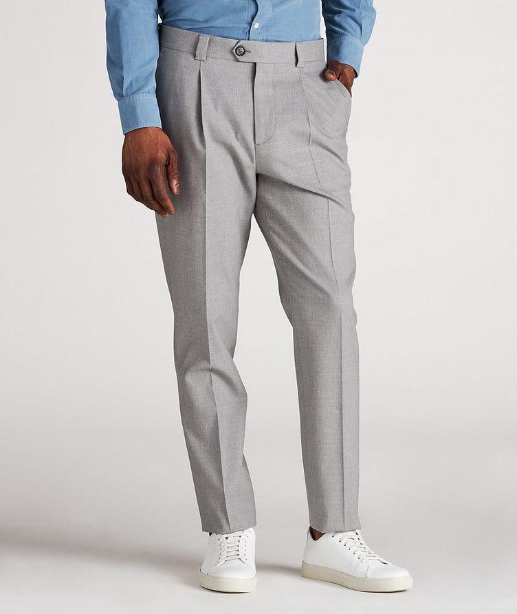 Pantalon habillé en mélange de coton image 1