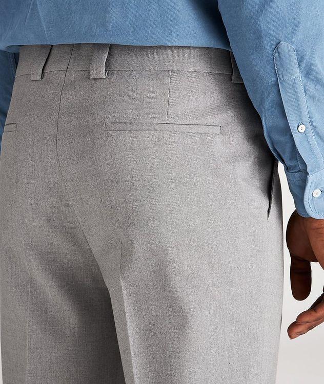 Pantalon habillé en mélange de coton picture 4