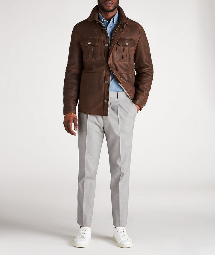 Pantalon habillé en mélange de coton image 4