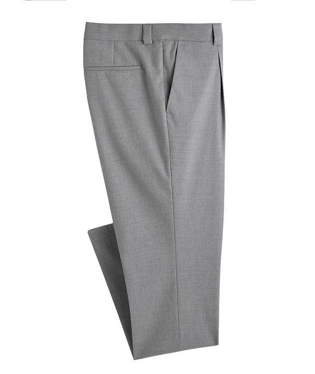 Pantalon habillé en mélange de coton picture 1
