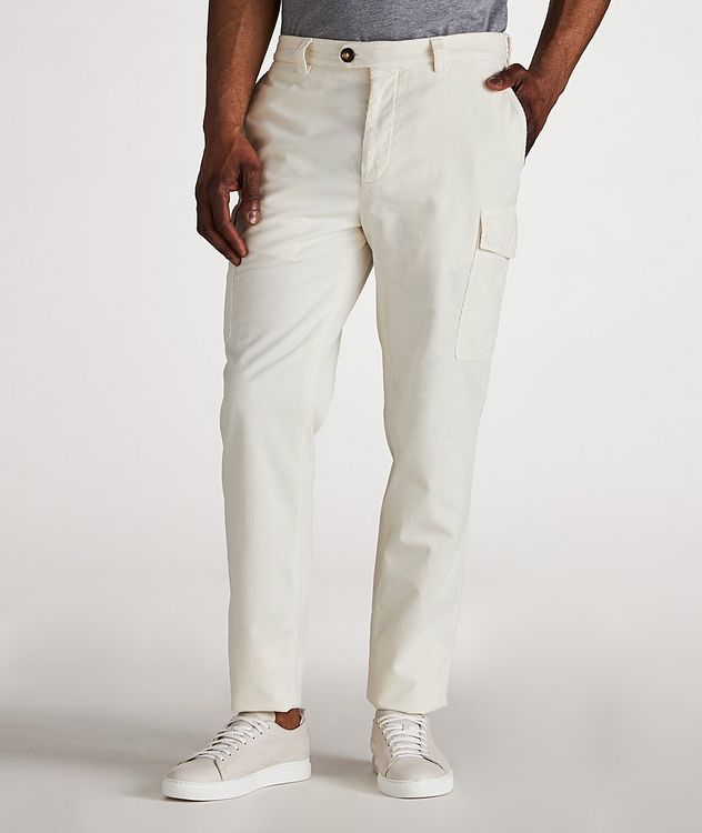 Leisure Cotton Cargo Pants picture 2