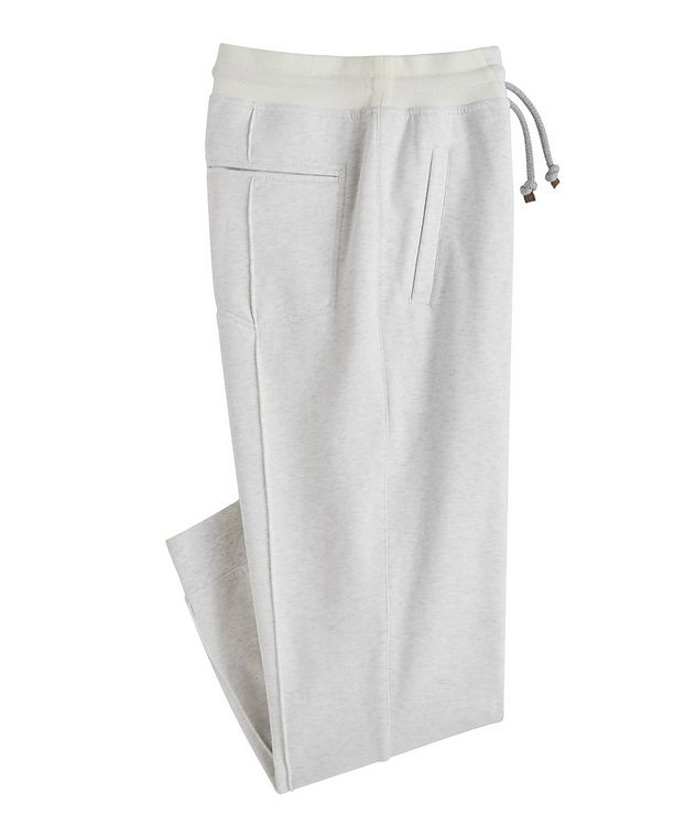 Cotton Pleated Drawstring Joggers picture 1