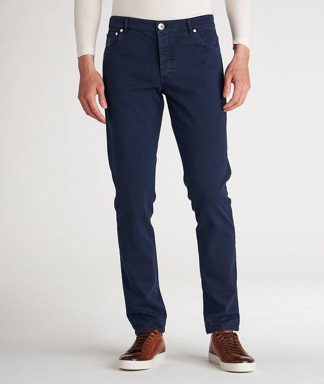 Cotton-Blend Jeans picture 2