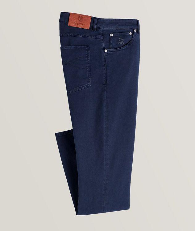 Cotton-Blend Jeans picture 1
