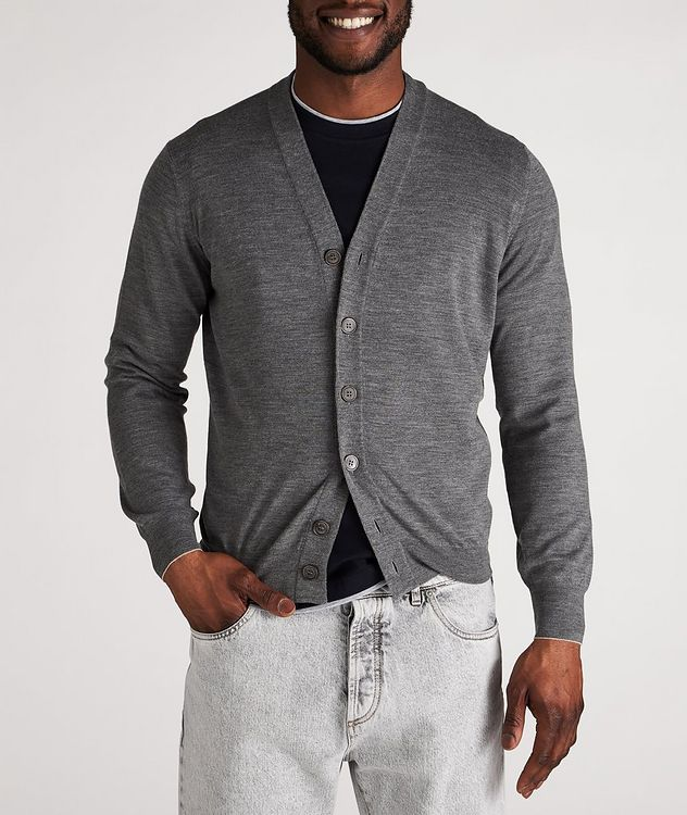 Wool-Cashmere Cardigan picture 2