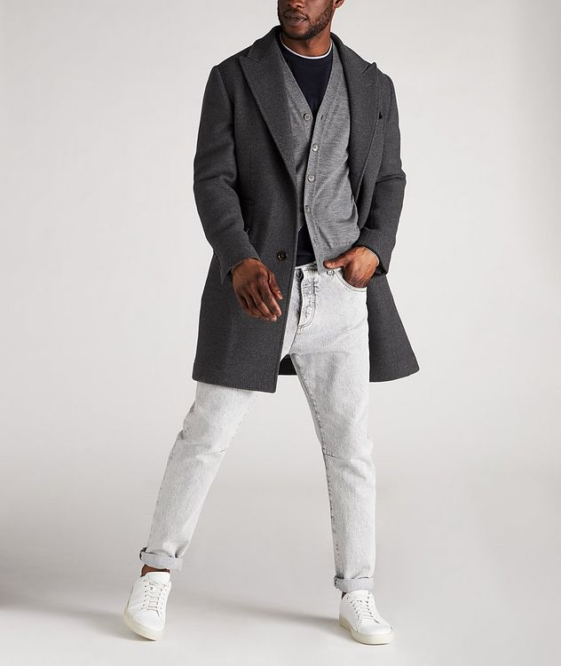 Wool-Cashmere Cardigan picture 5