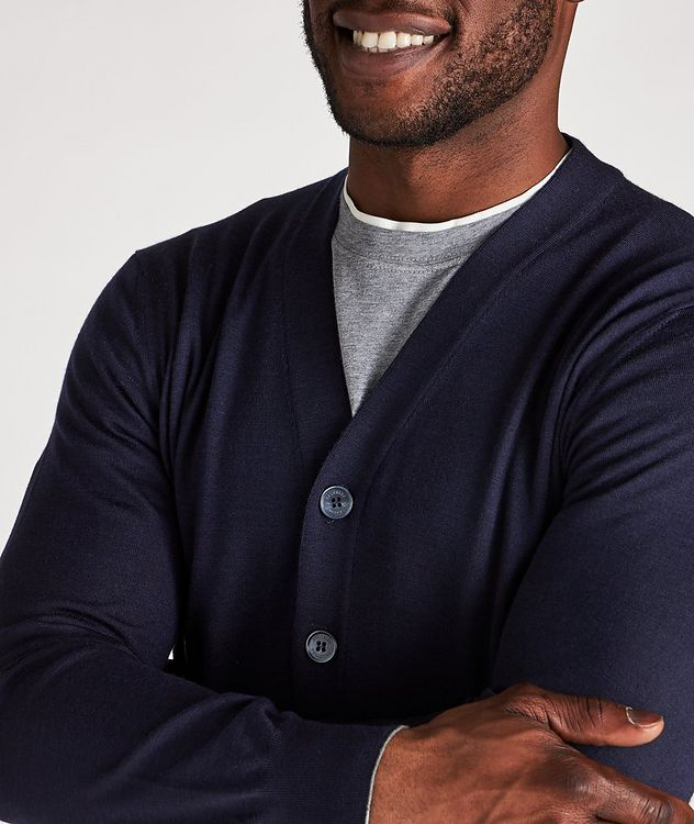 Wool-Cashmere Cardigan picture 4