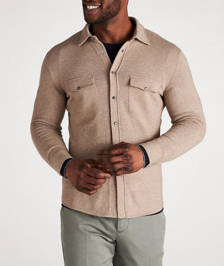 Wool, Cashmere & Silk Shirt image 1
