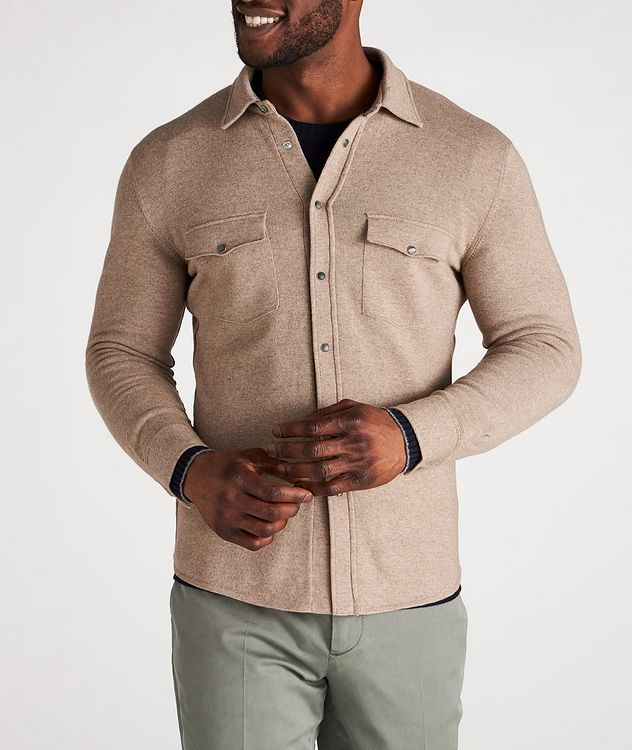 Wool, Cashmere & Silk Shirt picture 2
