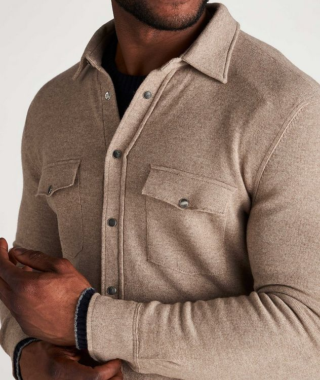 Wool, Cashmere & Silk Shirt picture 4
