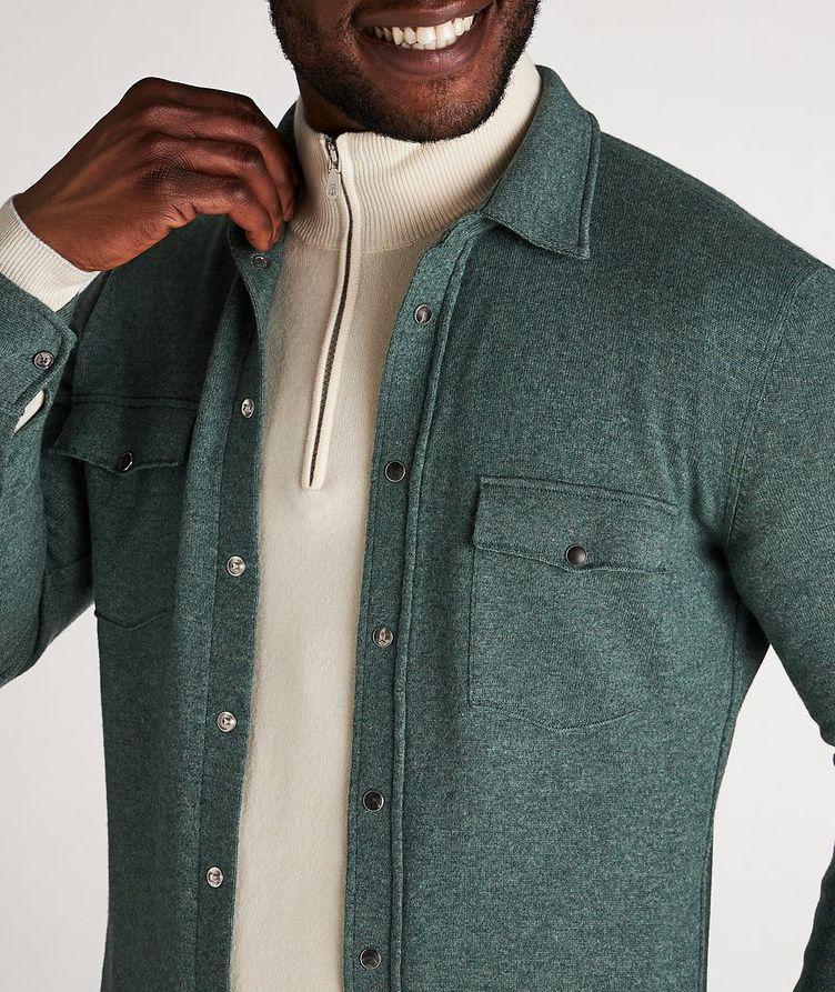 Wool, Cashmere & Silk Shirt image 3