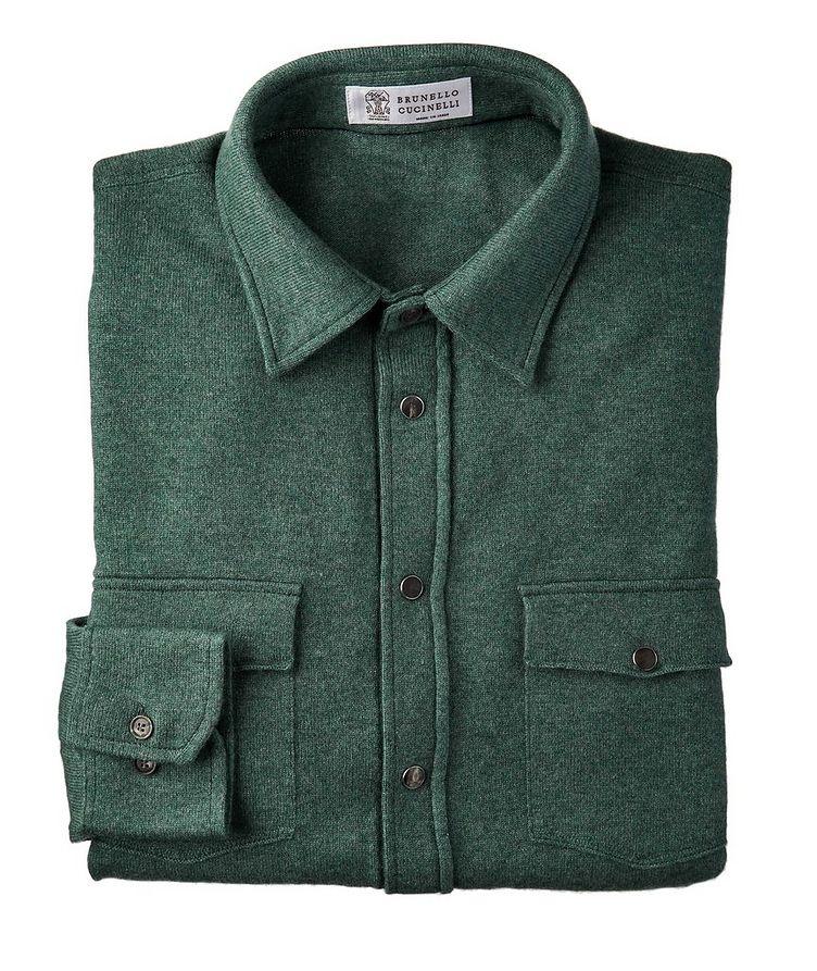 Wool, Cashmere & Silk Shirt image 0