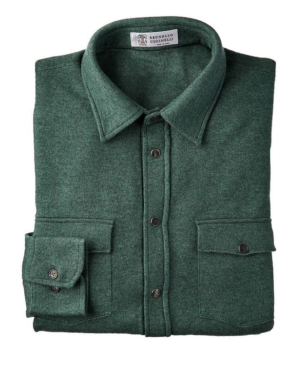 Wool, Cashmere & Silk Shirt picture 1