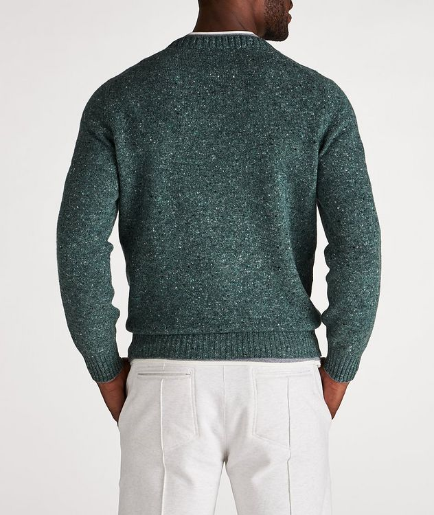 Wool-Cashmere Blend Crew Neck Sweater picture 3