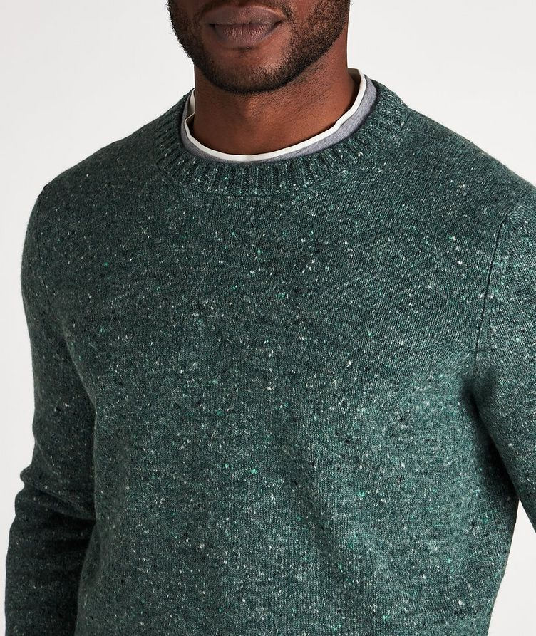 Wool-Cashmere Blend Crew Neck Sweater image 3