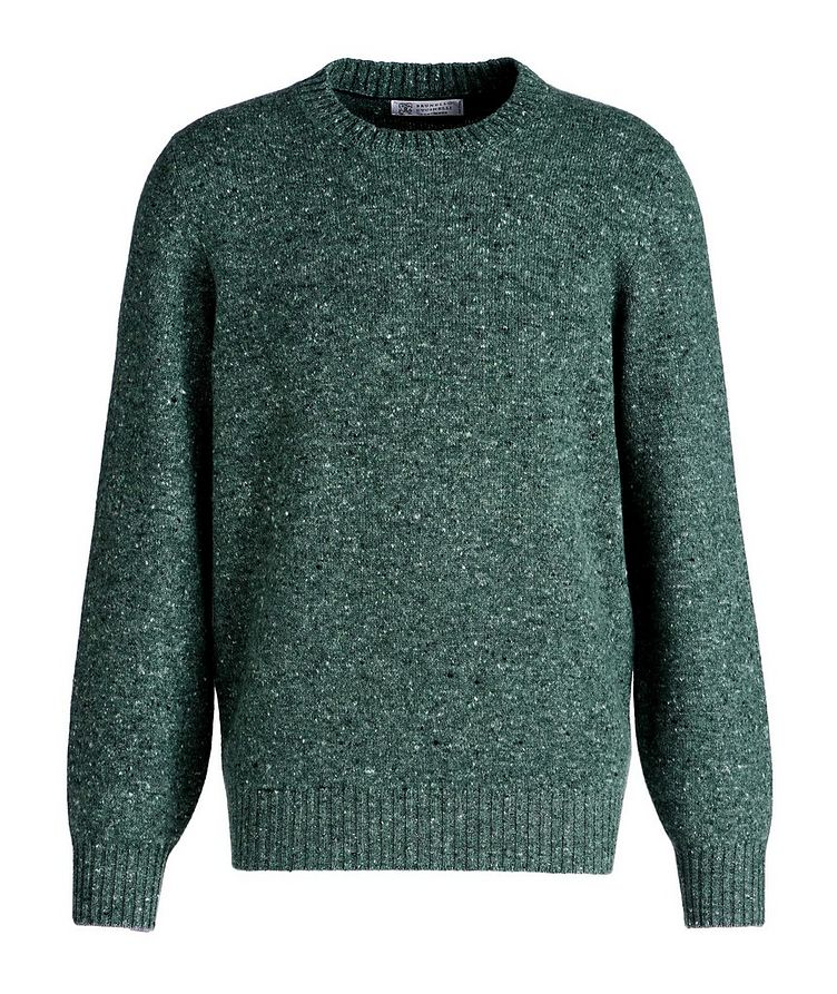 Wool-Cashmere Blend Crew Neck Sweater image 0