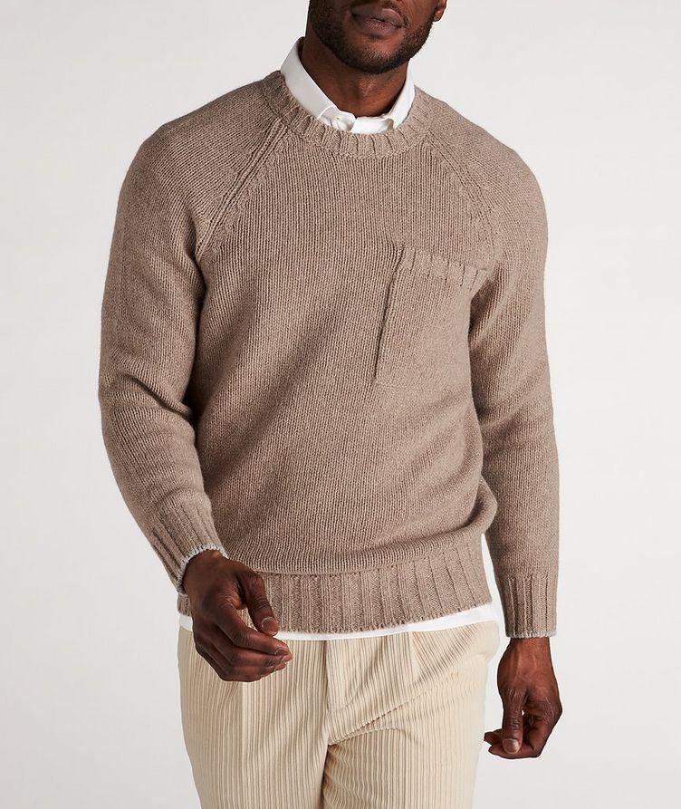 Alpaca-Yak Crew Neck Sweater image 1