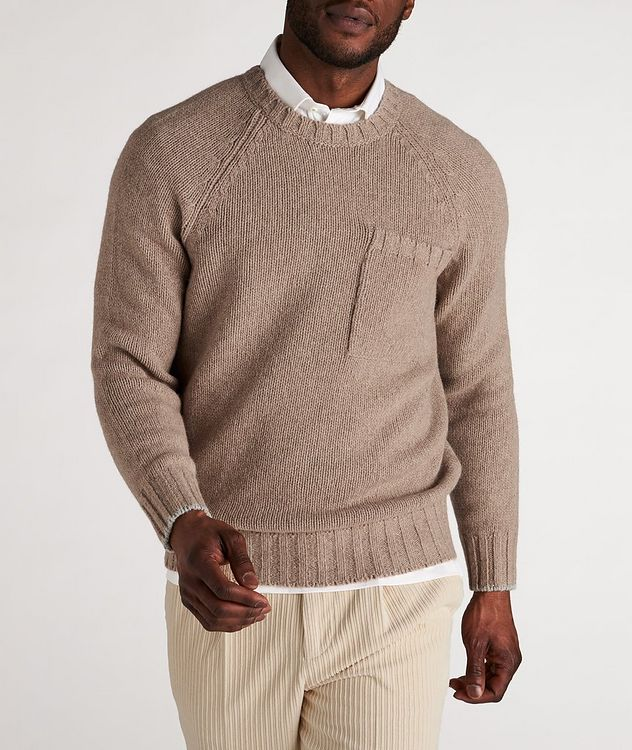 Alpaca-Yak Crew Neck Sweater picture 2