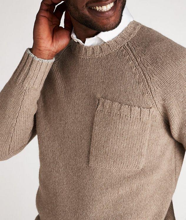 Alpaca-Yak Crew Neck Sweater picture 4