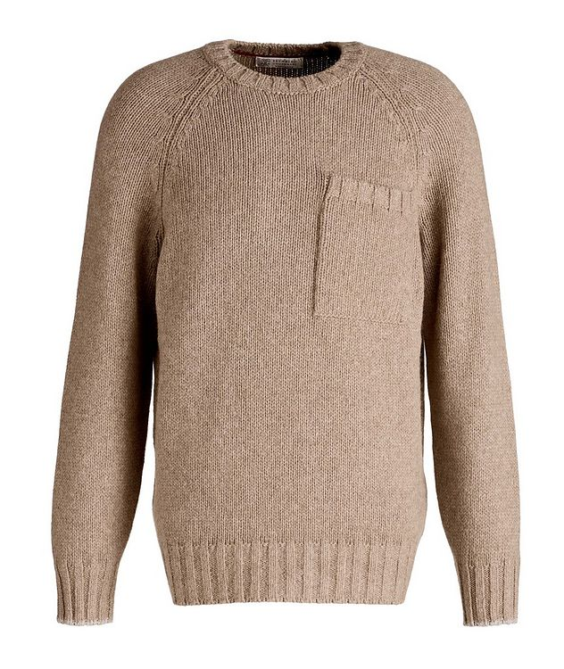 Alpaca-Yak Crew Neck Sweater picture 1