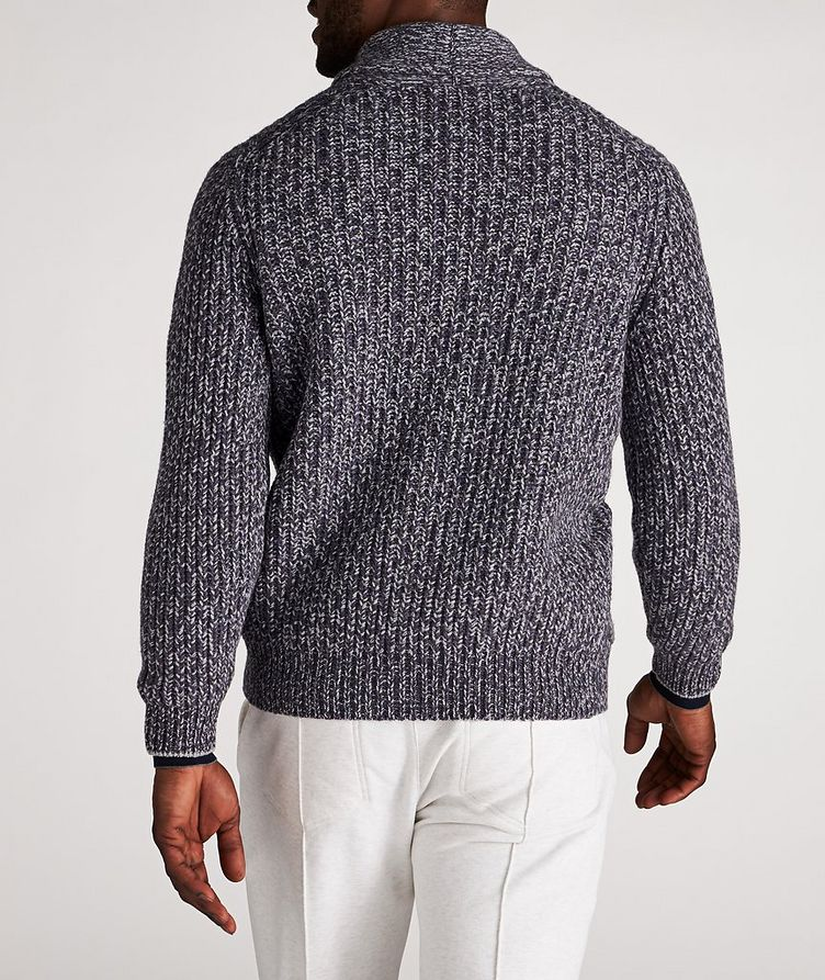 Cable-Knit Wool, Cashmere & Silk Cardigan image 2