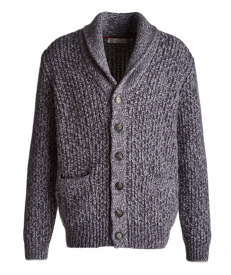 Cable-Knit Wool, Cashmere & Silk Cardigan image 0