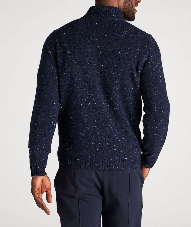 Zip-Up Wool-Cashmere Blend Sweater picture 3