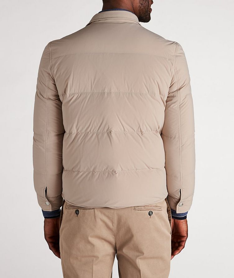 Water-Repellent Quilted Worker Jacket image 2