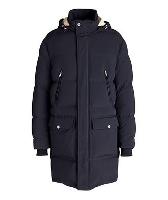 Brunello Cucinelli Water-Repellent Hooded Quilted Down Parka
