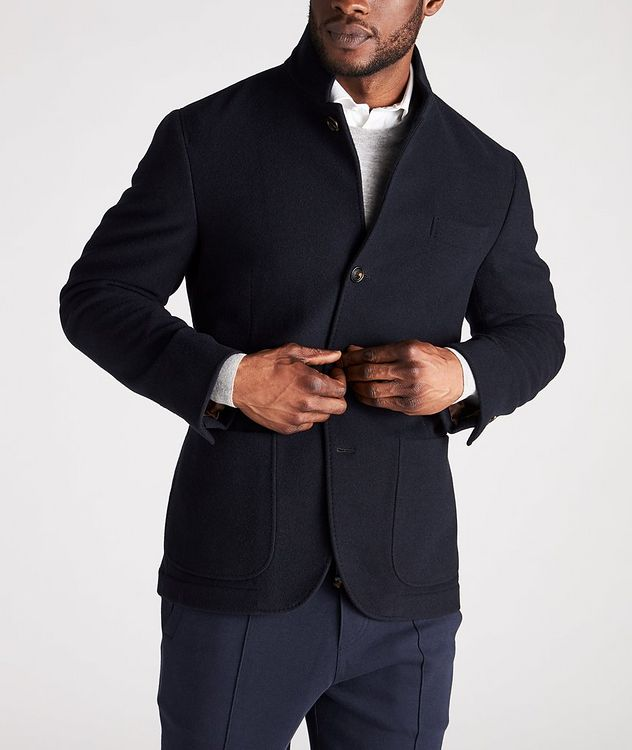 Unstructured Cashmere Jacket picture 2