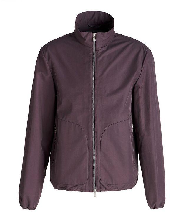 Water-Repellent Cotton-Blend Jacket picture 1