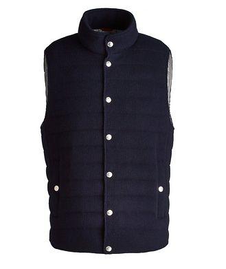 Brunello Cucinelli Quilted Cashmere Vest