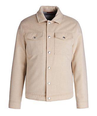 Brunello Cucinelli Water-Repellent Cashmere Trucker Jacket