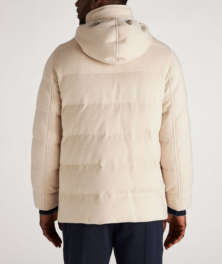 Hooded Cashmere Down Parka image 2