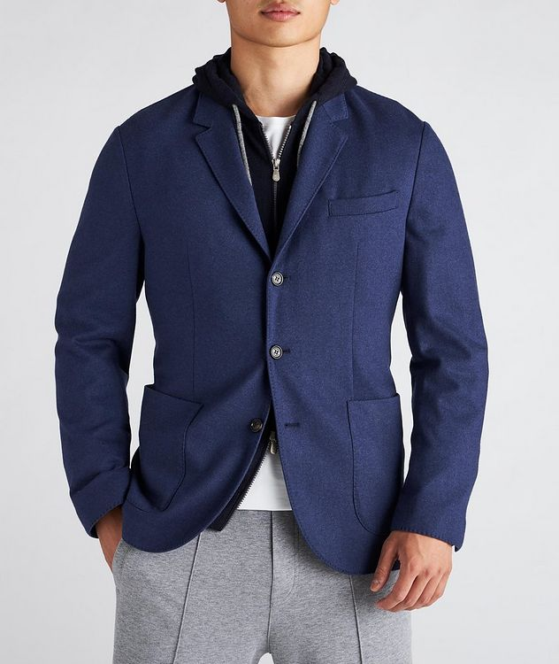 Unconstructed Cashmere Sports Jacket picture 2