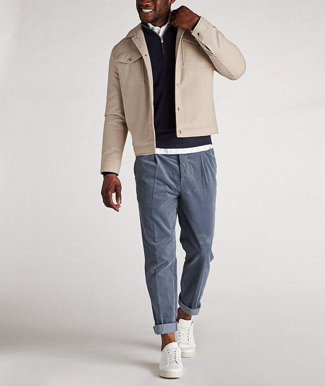 Half-Zip Cashmere Sweater  picture 5