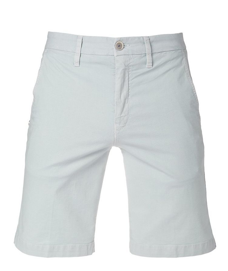 Stretchy Cotton-Blend Shorts image 0