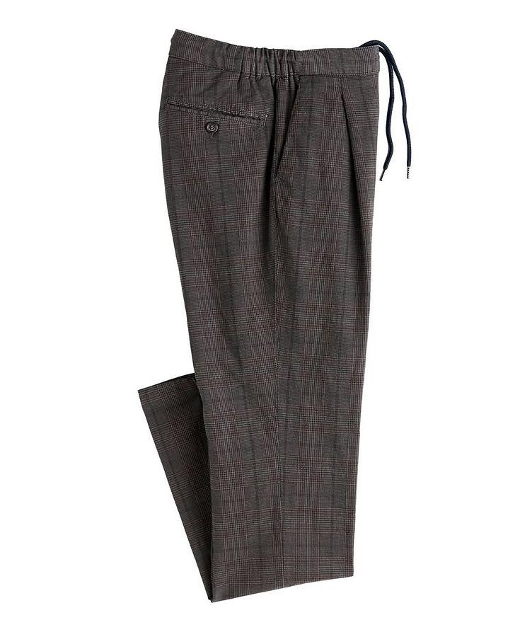 Turner Glen Check Drawstring Pants image 0