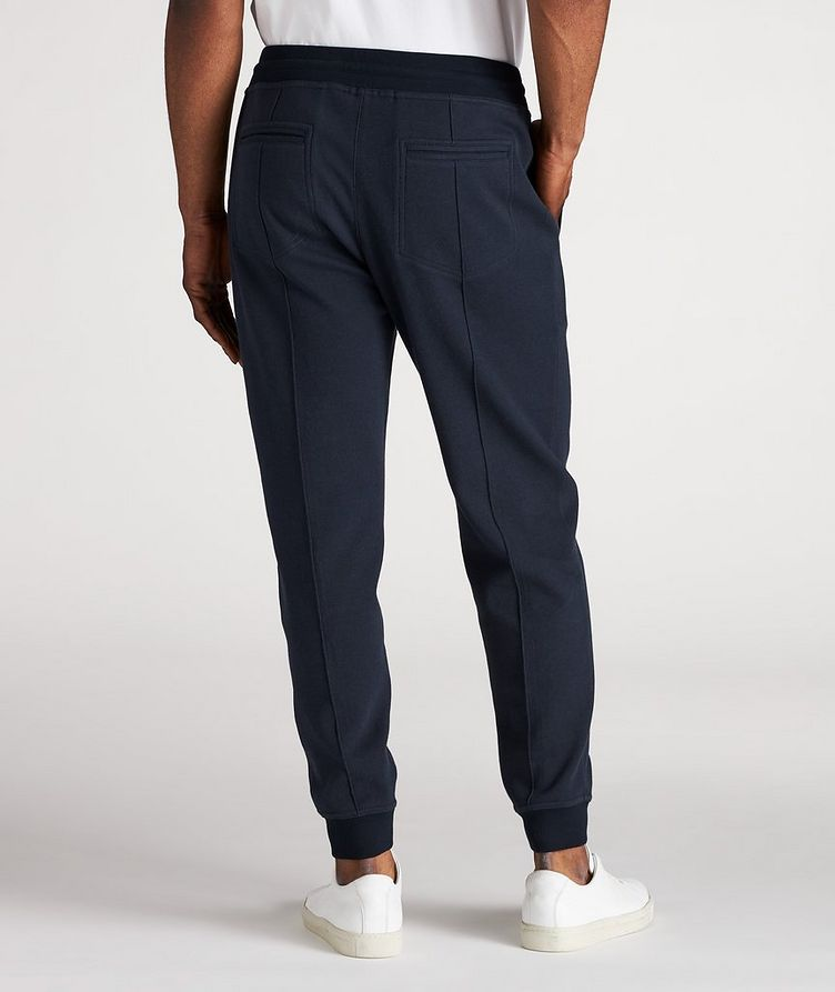 Cotton Pleated Drawstring Joggers image 2