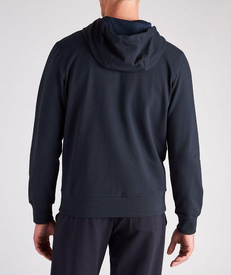 Zip-Up Stretch-Cotton Hoodie image 2
