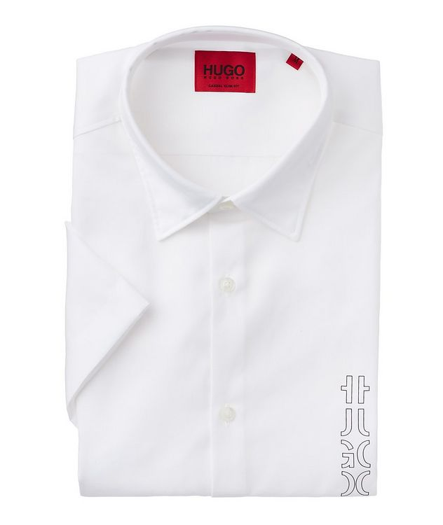 Short-Sleeve Cotton Sport Shirt picture 1