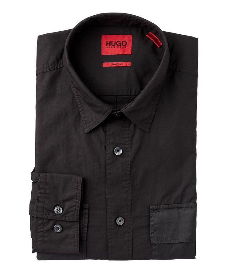 Ekami Stretch-Cotton Utility Shirt image 0