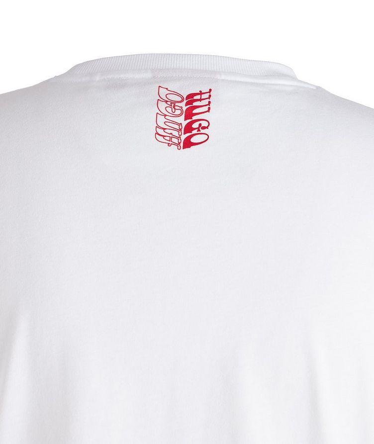 Pride Slogan Cotton T-Shirt image 1