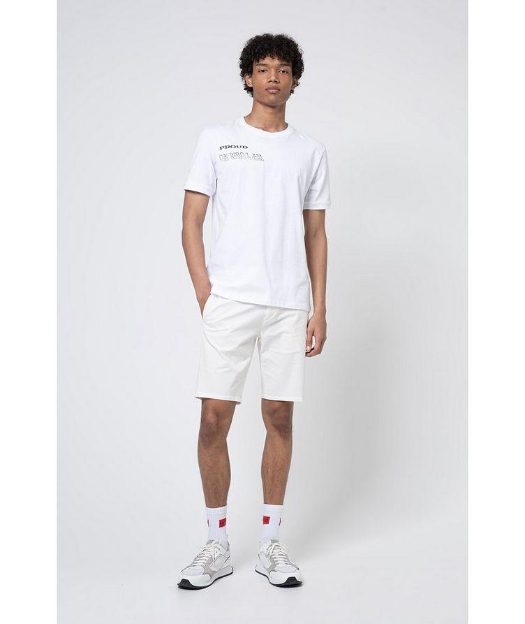 Pride Slogan Cotton T-Shirt image 3