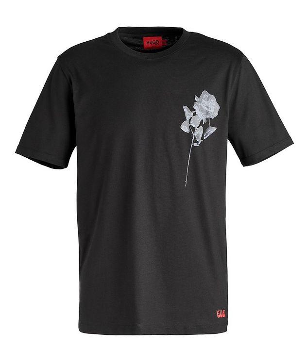 Pride Rose Cotton T-Shirt picture 1