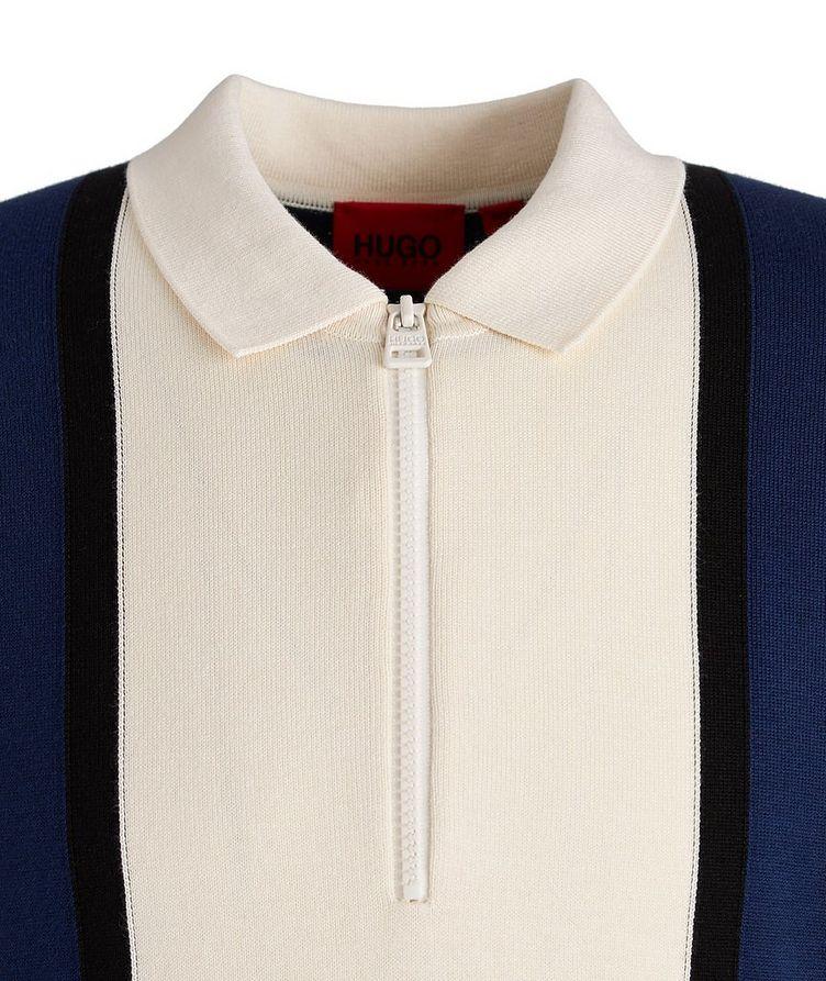Sholono Knit Cotton-Silk-Blend Polo image 2